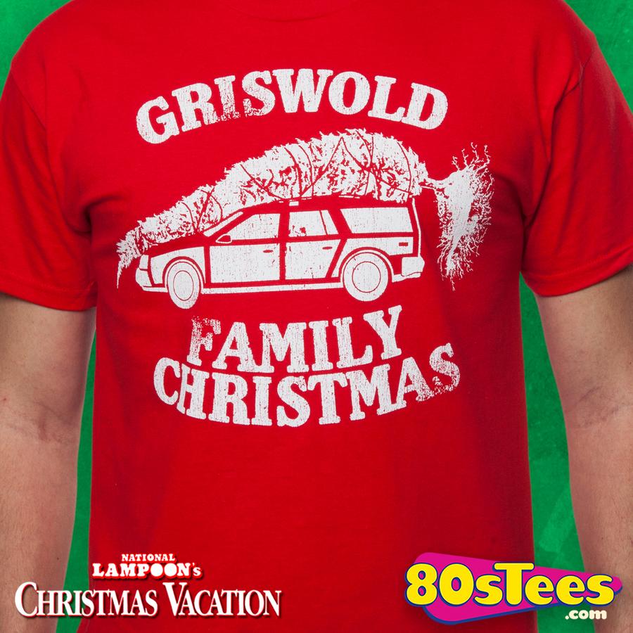 Christmas Vacation T-Shirt: National Lampoons Christmas Vacation Shirt