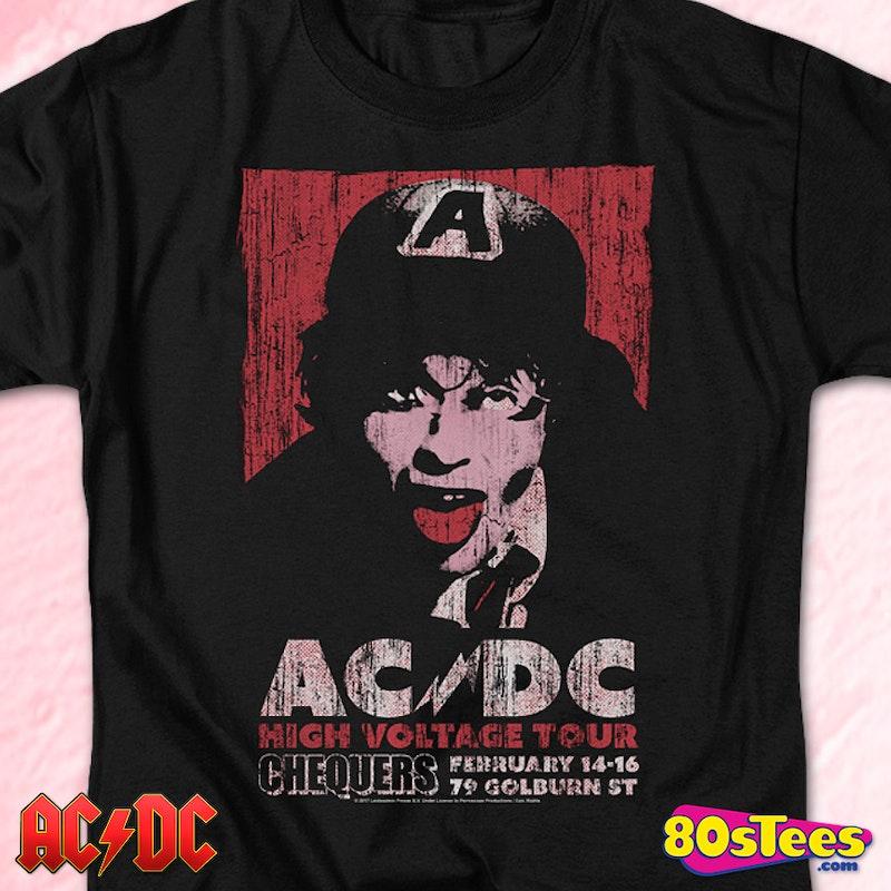b53459b0c6 High Voltage Tour ACDC T-Shirt  AC DCMens T-Shirt