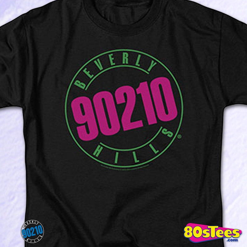 Logo Beverly Hills 90210 T-Shirt: Beverly Hills 90210 Mens