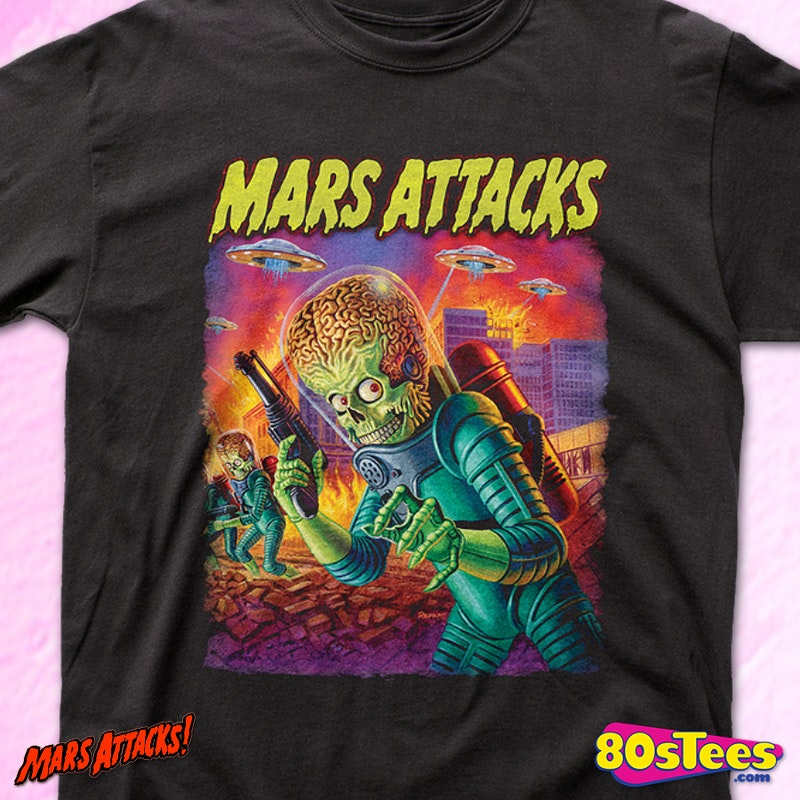 Mars Attacks T Shirt Mars Attacks Mens T Shirt