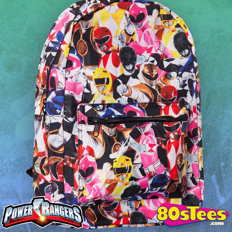 6f73d273851 Mighty Morphin Power Rangers Backpack  Power Rangers Backpack