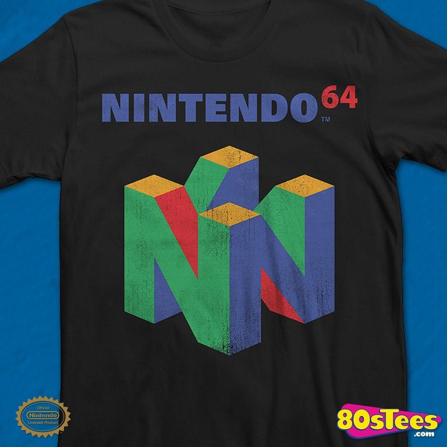n64 logo nintendo t