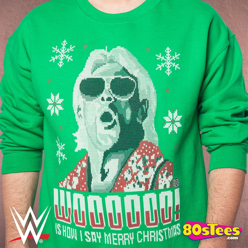 Ric Flair Christmas Sweatshirt: Wrestling Ric Flair Sweatshirt