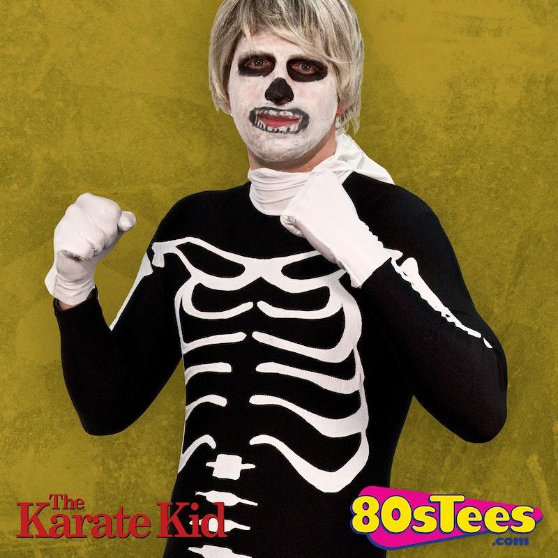 spandex skeleton bodysuit costume karate kid costumes