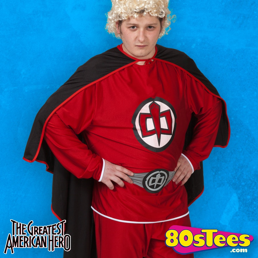 sc 1 st  80s Tees & The Greatest American Hero Costume: 80s TV Menu0027s Costume