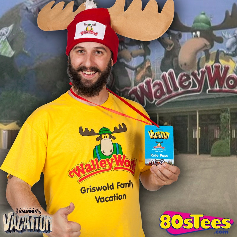 f1c92bd8ea91a National Lampoons Vacation Walley World Visitor Costume Kit