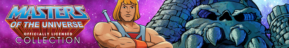 He-Man and the Masters of the Universe Shirts Banner