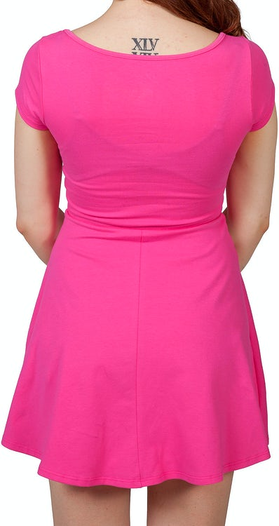 Pink Power Ranger Skater Dress