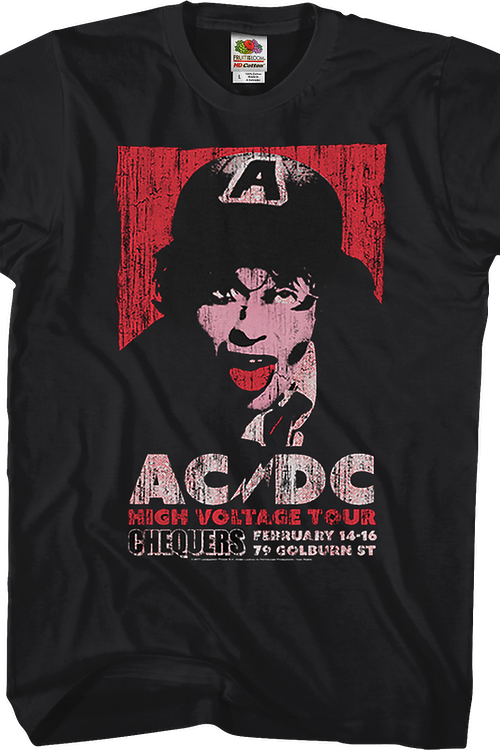 High Voltage Tour ACDC T-Shirt
