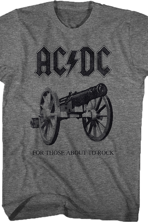 ACDC For Those About to Rock T-Shirt