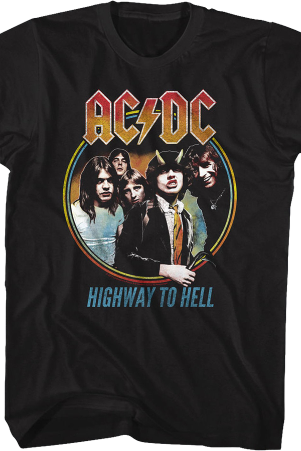 Black Highway To Hell ACDC T-Shirt