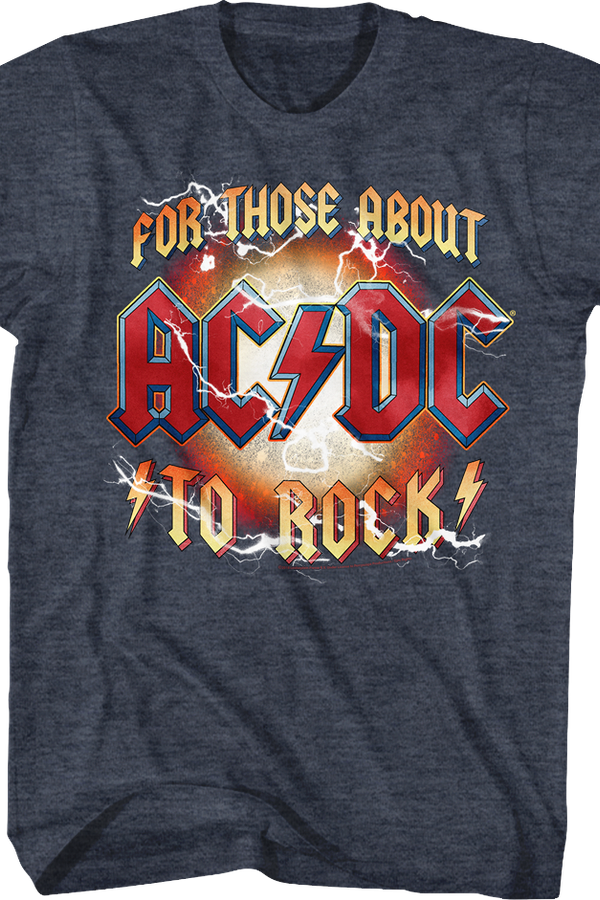For Those About To Rock ACDC T-Shirt