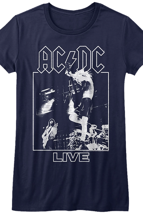 Junior ACDC Live Shirt