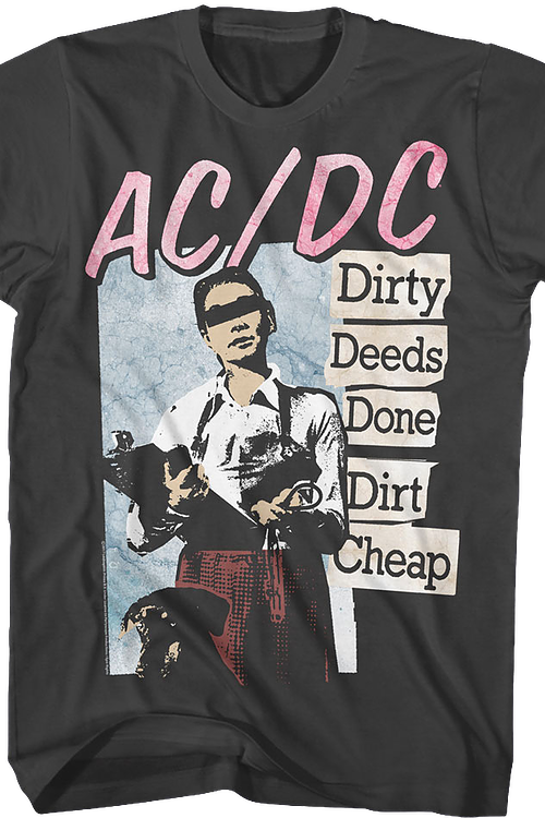 Dirty Deeds Done Dirt Cheap ACDC T-Shirt
