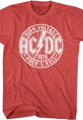 bc5ad35511b High Voltage Rock and Roll ACDC T-Shirt