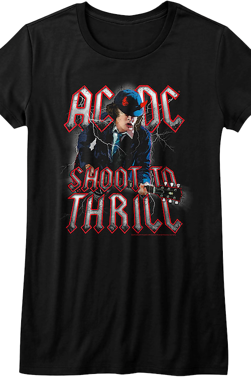 Ladies ACDC Shoot To Thrill Shirt