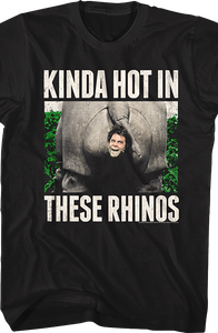 Kinda Hot In These Rhinos Ace Ventura T-Shirt
