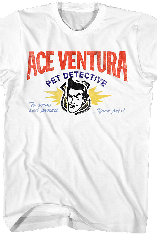 Business Card Ace Ventura T-Shirt