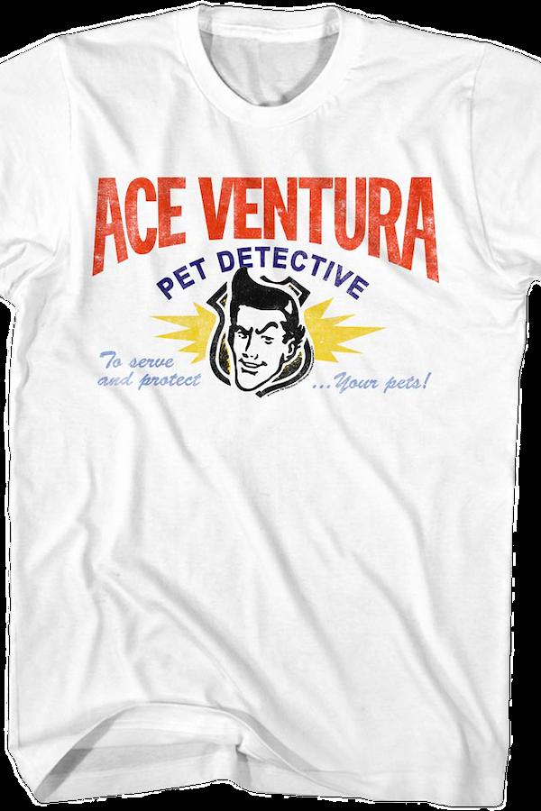 Business Card Ace Ventura T-Shirt. Men\'s T-Shirt