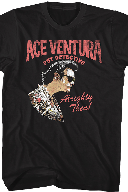 Distressed Ace Ventura T-Shirt