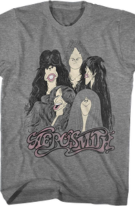 Draw The Line Aerosmith T-Shirt