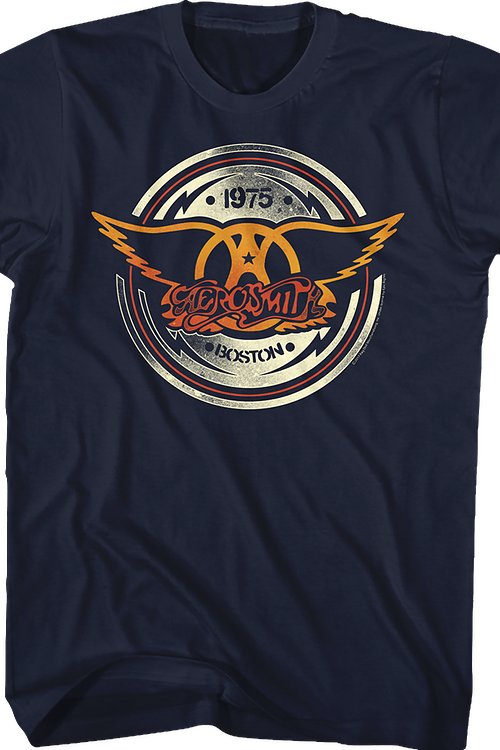 Chrome Logo Aerosmith T-Shirt