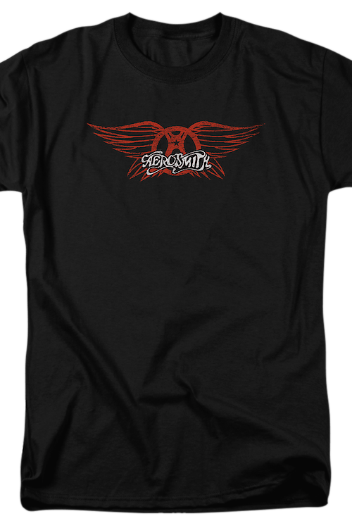 Red Logo Aerosmith T-Shirt