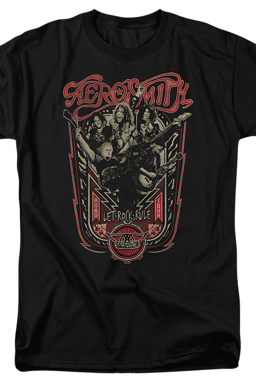 Let Rock Rule Aerosmith T-Shirt