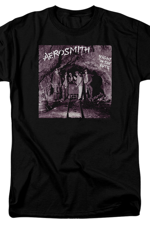 Night In The Ruts Aerosmith T-Shirt