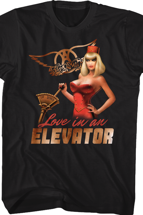 Love in an Elevator Aerosmith T-Shirt
