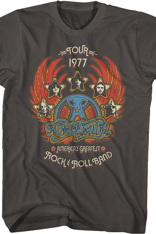 America's Greatest Rock and Roll Band Aerosmith T-Shirt