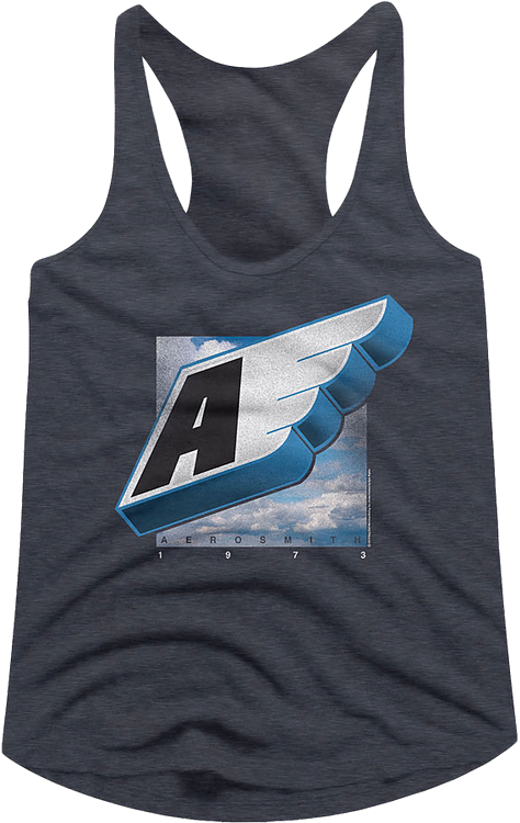 Wing Logo Aerosmith Racerback Tank Top