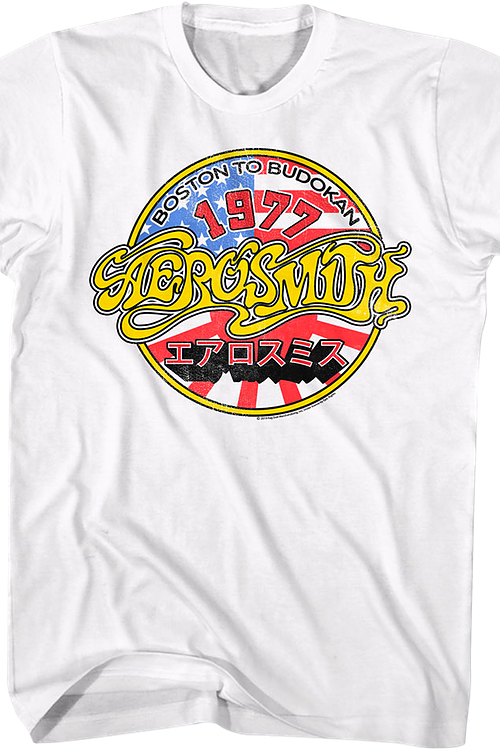 Boston to Budokan Aerosmith T-Shirt