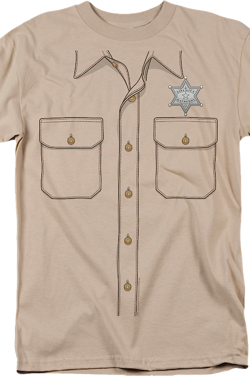 Mayberry Sheriff Andy Griffith Show Costume T-Shirt