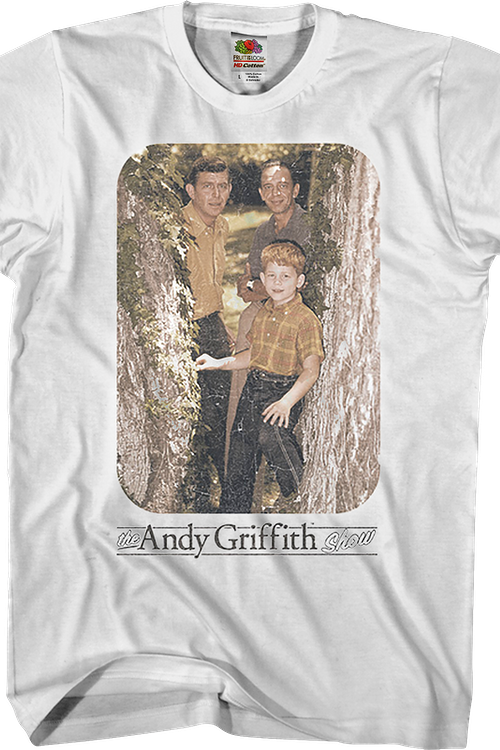 Andy Barney Opie Andy Griffith Show T-Shirt