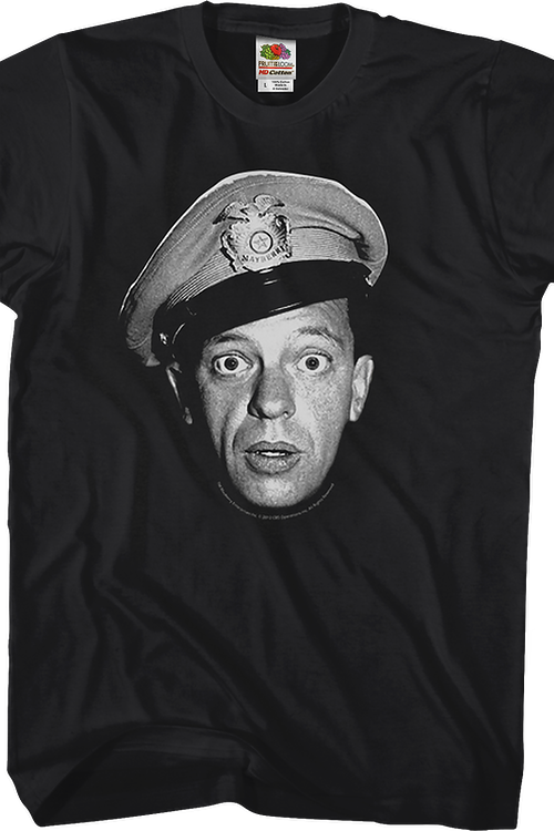 Barney Fife Andy Griffith Show T-Shirt