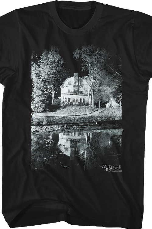 Black and White Amityville Horror T-Shirt