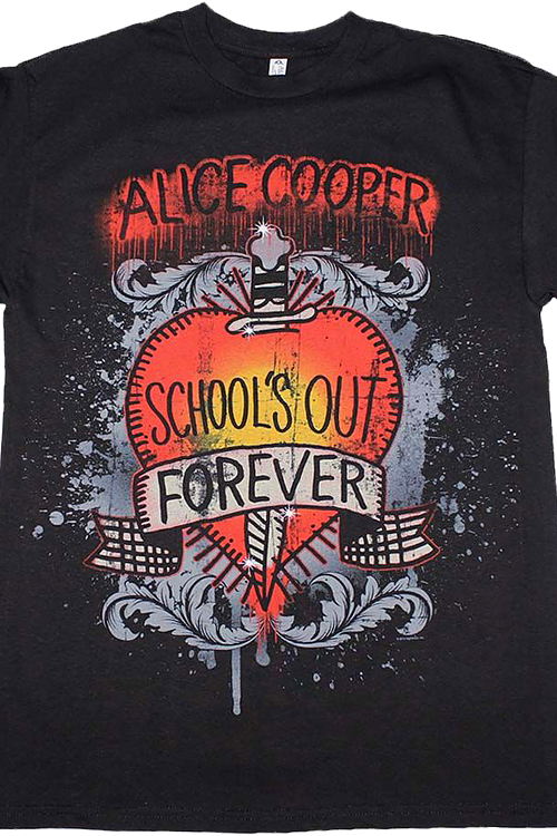 School's Out Forever Alice Cooper T-Shirt