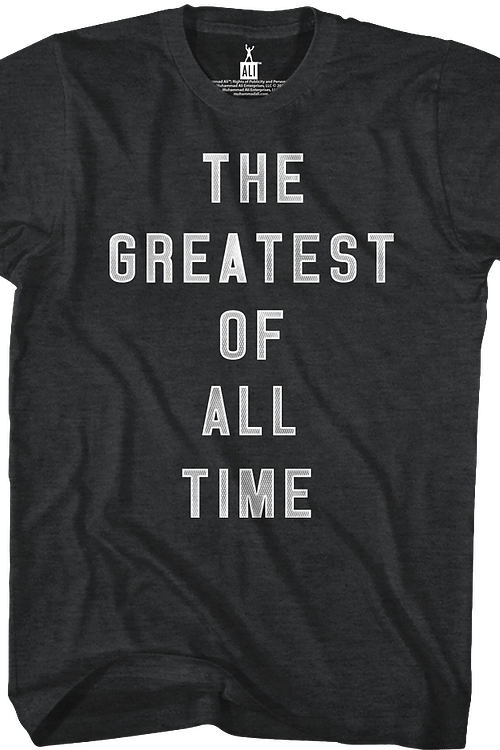 The Greatest Of All Time Muhammad Ali T-Shirt