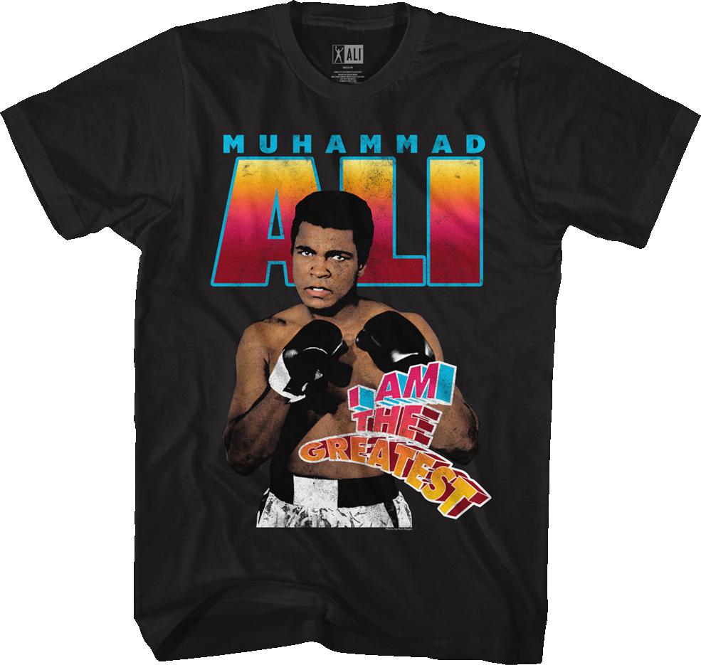 muhammed ali t shirt