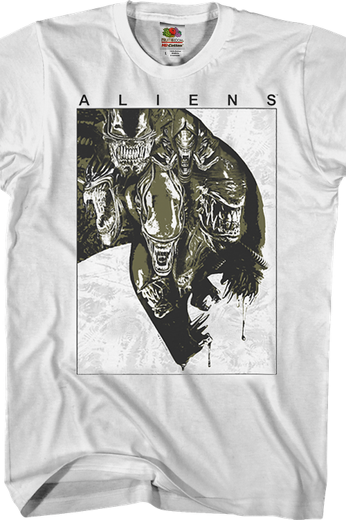 Open Wide Aliens T-Shirt