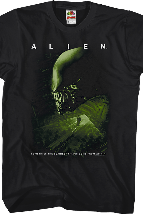 Scariest Things Come From Within Alien T-Shirt
