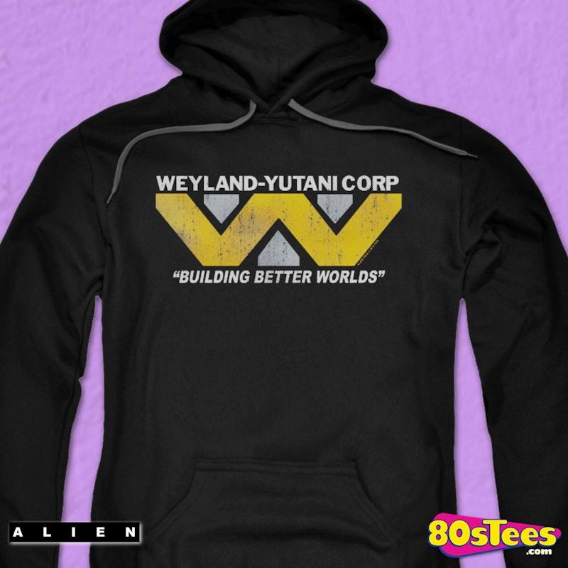 Weyland Yutani Corp Alien Hoodie