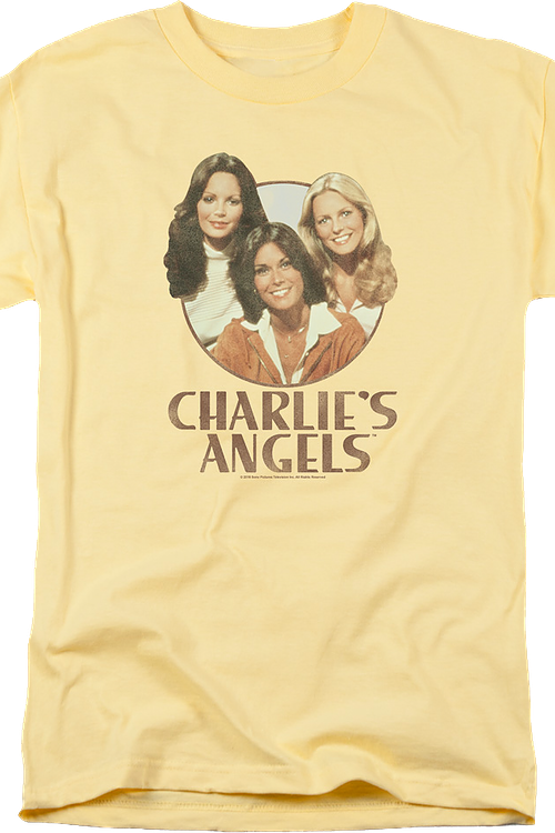 Distressed Charlie's Angels T-Shirt
