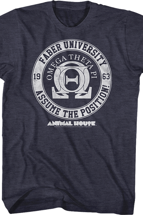 Omega Theta Pi Animal House T-Shirt
