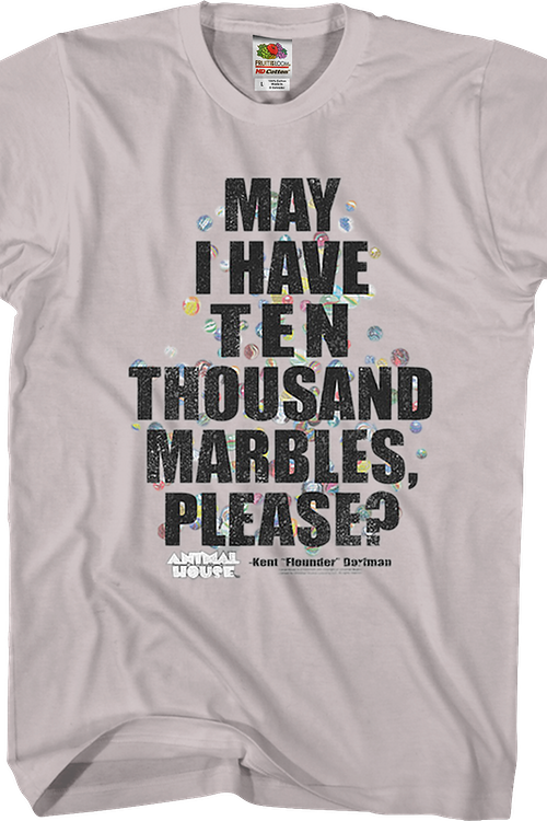 Ten Thousand Marbles Animal House T-Shirt
