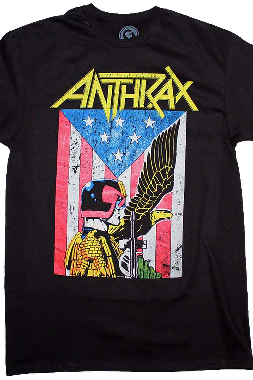 Dredd Eagle Anthrax T-Shirt