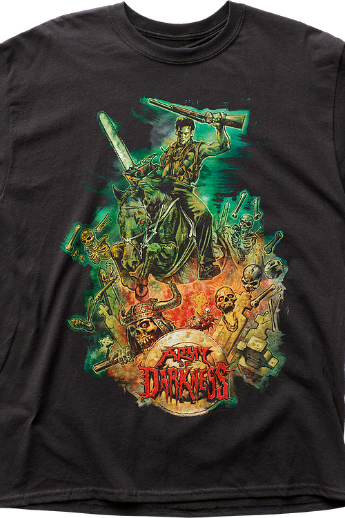 Surrounded By Evil Army of Darkness T-Shirt