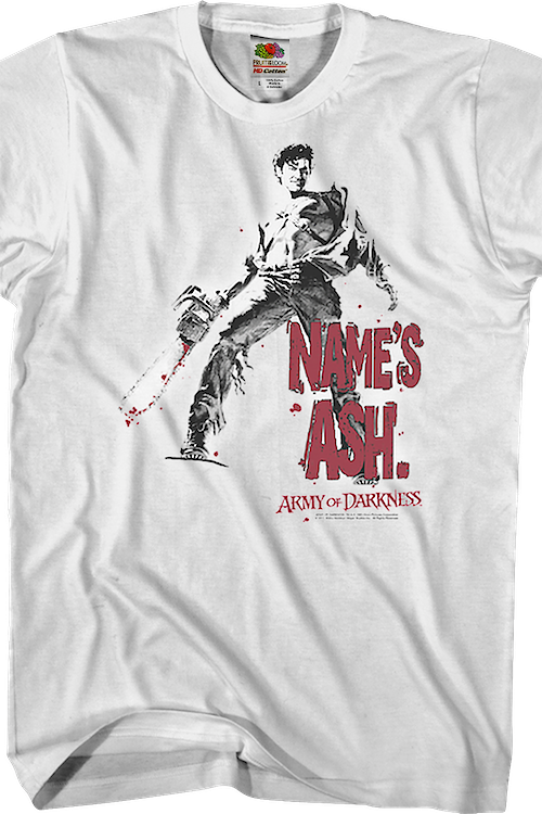 Name's Ash Army of Darkness T-Shirt