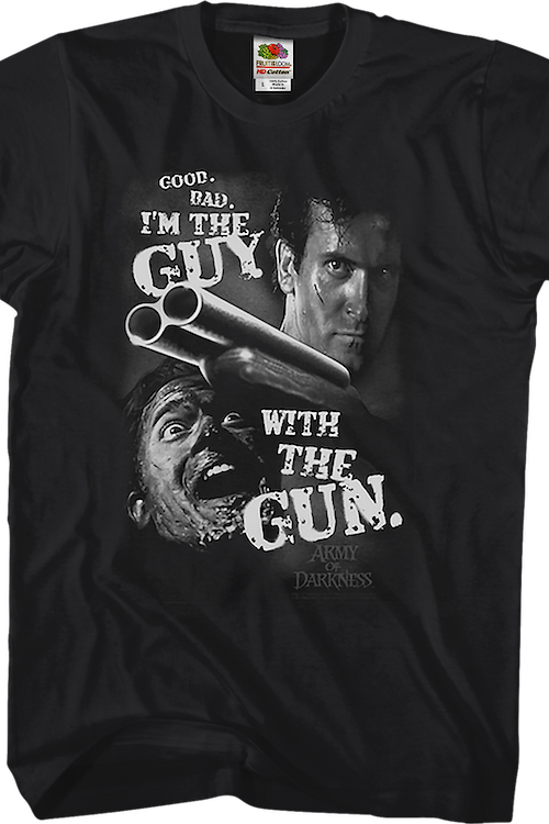 Guy With the Gun Army of Darkness T-Shirt